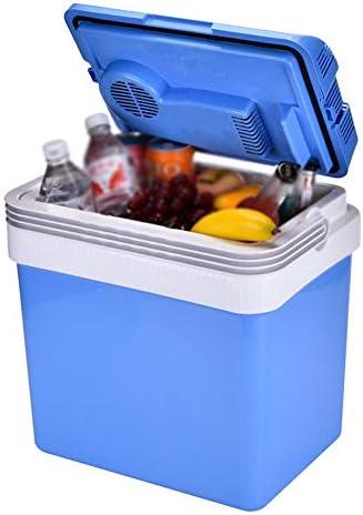 ポータブルカー冷蔵庫、32L大容量ミニ冷蔵庫、電気、断熱ボックス、カーホーム冷蔵庫、ブルーフリーザー