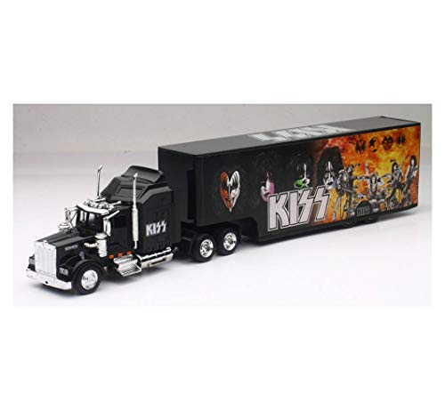 New-Ray SS-15473 Kenworth KISS Rock Band Truck