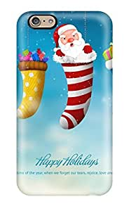 Cute Tpu AmandaMichaelFazio Happy Holidays 2013 Case Cover For Iphone 6