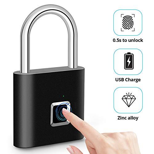 2020 Upgrade Fingerprint Padlock