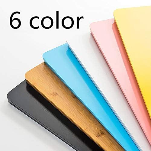 折りたたみ テーブル 折り畳み式ベッドは、小さなテーブル寮レイジーシンプルデスク調査表ではラップトップコンピュータのデスクベッド折りたたみ小さなデスクを冷却します ローテーブル ミニ (Color : Brown, Size : 60x40x30cm)