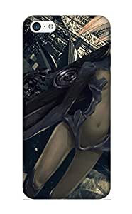 Mnasfx-6089-rehhaed Exultantor Anime Women Durable Iphone 5c Tpu Flexible Soft Case With Design