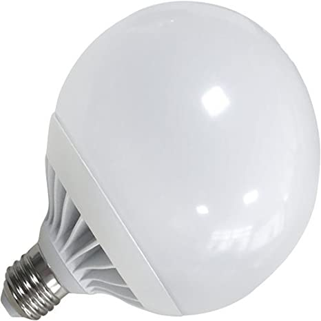 Bombilla LED tipo globo, G120 con base E27. Color de luz de 15 de potencia blanco equivalente a w 125watts.: Amazon.es: Iluminación