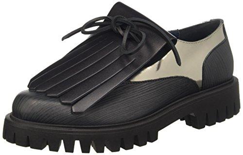 Pollini con Sa10443g12ts Sandalias para Mujer Negro Plataforma Cq8ZxpwCT