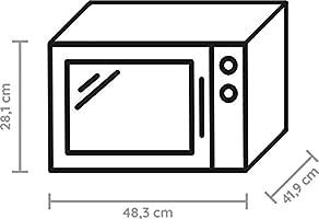 Whirlpool MWP 253 SX - Microondas para parrilla, 25 l, 900 W ...