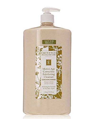 Eminence Organic Skincare Monoi Age Corrective Exfoliating Cleanser, 32 Ounce
