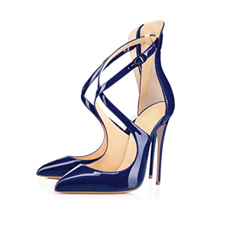 tobillo Tira de Mujer Azul EDEFS CqEXgdgw