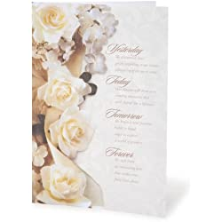 "Daricevictoria Lynn Wedding Program Kit:""Yesterday. Forever"" Quote"