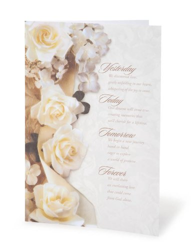 Darice Victoria Lynn Quote Wedding Kit: Yesterday/Forever, 100 Programs]()