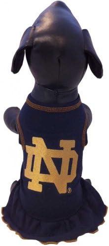 Royal XX-Small All Star Dogs NHL New York Islanders Dog Cheerleader Dress
