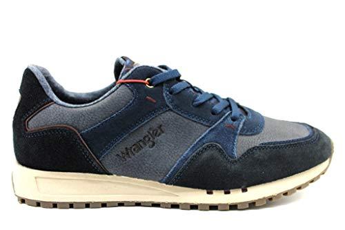 Beyond Wm182120 Uomo Blu Sneakers Run Wrangler Comode Calzature zpBqvwq