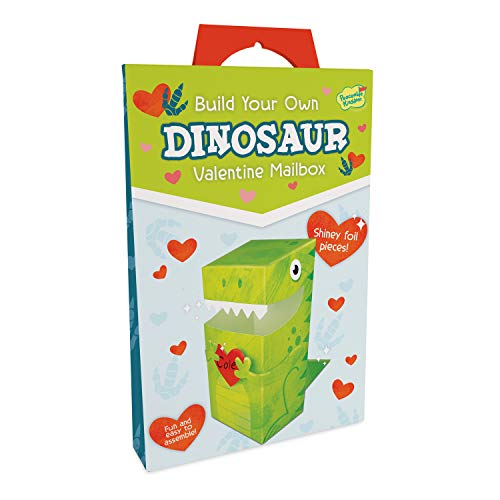 Peaceable Kingdom Build Your Own Dinosaur Valentines Mailbox Kit