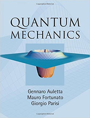 Quantum mechanics gennaro auletta mauro fortunato giorgio quantum mechanics 1st edition publicscrutiny Choice Image