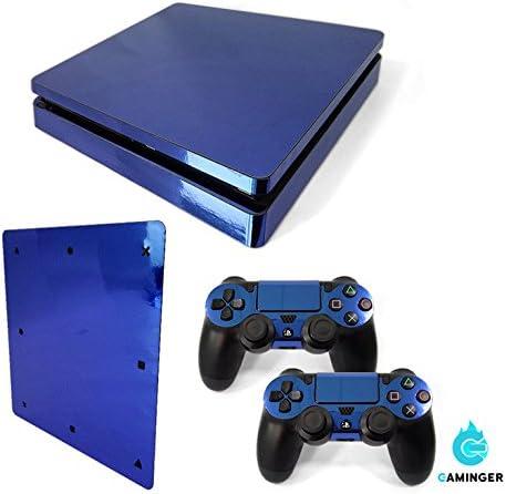 Gaminger Playstation 4 Slim - Kit de Skins (Fundas Adhesivas) para Consola + 2 mandos de Control: Amazon.es: Electrónica