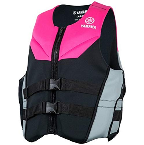 OEM Yamaha Women's Neoprene 2-Buckle PFD Life Jacket Vest PINK SMALL