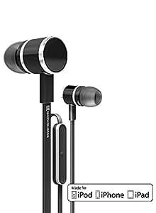 Beyerdynamic iDX160 - Auriculares in-ear (con micrófono, control remoto integrado), negro