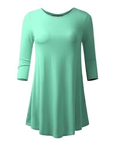 mint green top - 4