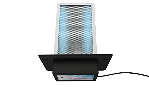 Air Duct Uv Light - D200 Dual lamp Air Purifier Whole House TIO2 PCO photocatalytic Filter Uv Light in Duct for Hvac Ac (Air Conditioning) Duct Germicidal Hydroxyl Radicals generator