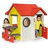 Smoby - Maison My House Avec Table De Pique Nique