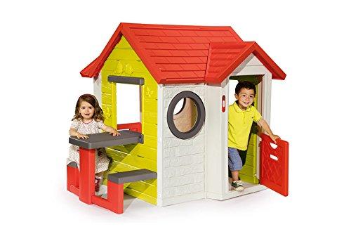 smoby mein haus mit und ohne picknichtisch. Black Bedroom Furniture Sets. Home Design Ideas