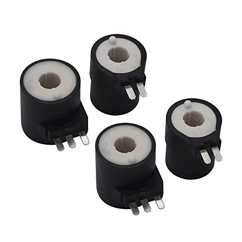 2 Pack of 279834 Dryer Gas Valve Ignition Solenoid Coil Kit Compatible with Kenmore Whirlpool Dryers ReplacementPart by AMI - Replace PS334310 694540 AP3094251