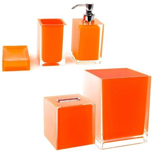 Gedy RA2011-67 Rainbow Accessory Set Orange