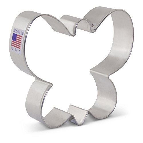 (Ann Clark Butterfly Cookie Cutter - 3.4 Inches - Tin Plated)