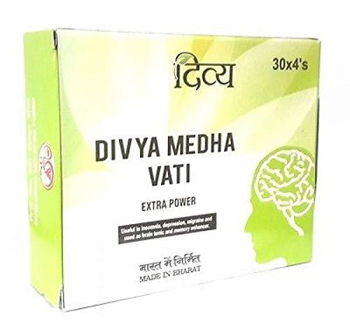 Patanjali Divya Medha Vati 30 x 4's (Total 120 Tablets)