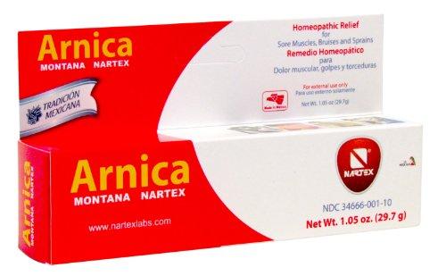 Nartex Arnica Montana Ointment Tube, 1.05 Ounce