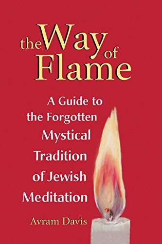 The Way of Flame: A Guide to the Forgotten Mystical Tradition of Jewish Meditation [Davis, Avram] (Tapa Blanda)