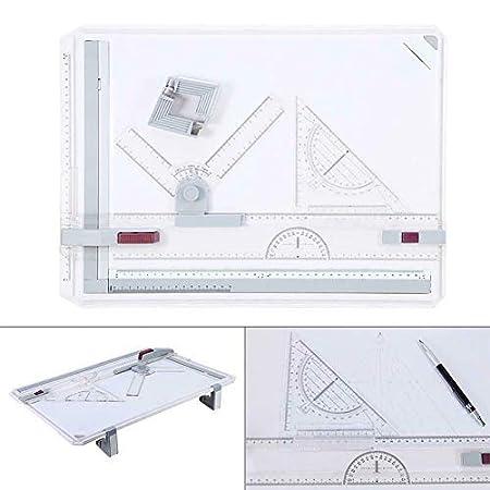 Starmood Profesional A3 Dibujo Mesa Ténico Panel con Dibujo Cabeza ...