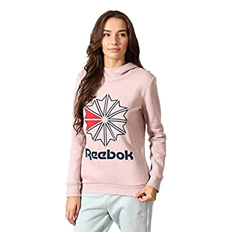 89f1c61e3cc Image Unavailable. Image not available for. Color  Reebok Classics Women s  Starcrest Pullover Fleece ...