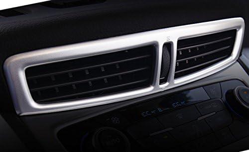 C En Plastique ABS Mat 1 Pi/èce Pour Kuga 2013-2018 D/écor De Treillis Int/érieur A