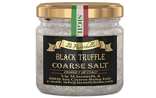 La Rustichella Black Truffle Coarse Salt - 3.2 oz