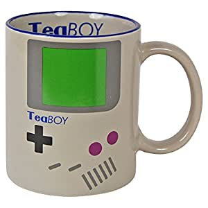 TEA BOY MUG - Parody Coffee Tea Cup - KITCHEN HOME OFFICE NIB