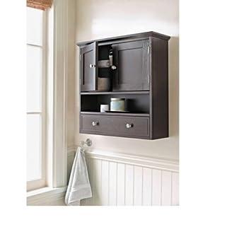 Amazon.com: Threshold Bathroom Bridewater Luxury Wall Cabinet ...