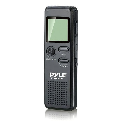 PYLE PVR300 Rechargeable Digital Voice Recorder with USB & P