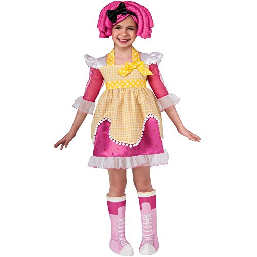 Lalaloopsy Crumbs Sugar Cookie Deluxe Toddler Costume - Deluxe Crumbs Sugar Cookie Girls Costumes