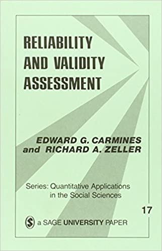 Reliability and validity of quantitative research