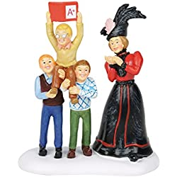 Department 56 Christmas Story Ralphie's A+ Fantasy Figurine Village Accessory, Multicolor