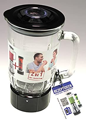Severin 9059000 Mix Taza, jarra de cristal para sm3737 batidora ...