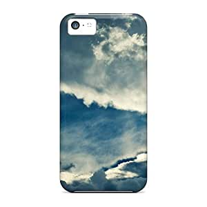 XiFu*MeiTough Iphone TLU35339GoJR Cases Covers/ Cases For ipod touch 4(sky Cloud Serenity Image)XiFu*Mei
