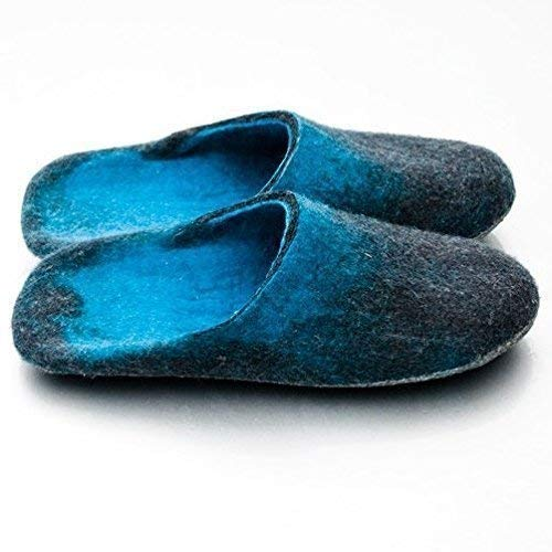 BureBure Felted Wool Slides Slippers for Women Handmade in Europe