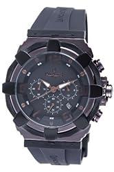 Lancaster Men's  OLA0440BR RoBusto Black Dial Watch Model