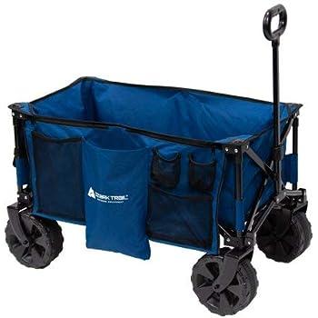 5320a69d1623 Amazon.com : Ozark Trail Camo Print Quad-Folding Wagon with ...
