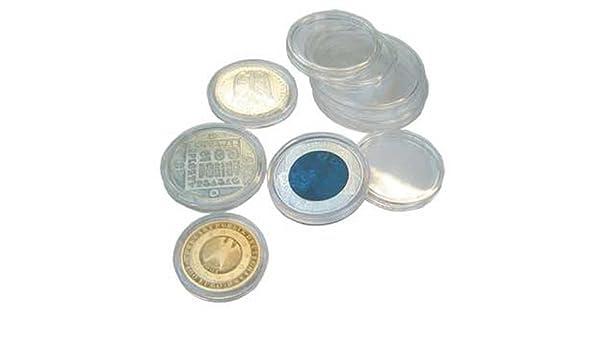 25 SAFE CAPS 235 - Ideal para 1 monedas en euros - moneda de ...