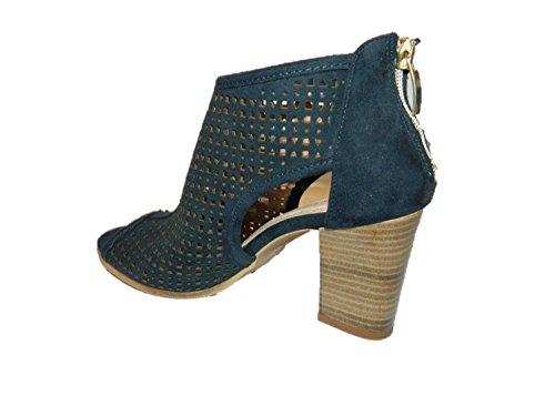 Sandali open toe fasciati con tacco scarpe donna made in Italy collezione 2016