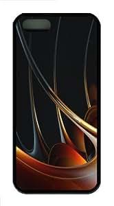 3D abstract designs 2 Custom iPhone 5s/5 Case Cover ?¡ìC TPU ?¡ìC Black wangjiang maoyi by lolosakes