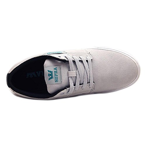 II White Grey da Vulc Supra Stacks Sneakers Lt Uomo 8xEf0Rq