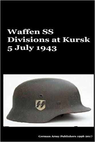 Waffen SS Divisions at Kursk 5 July 1943: Mr Gustavo Uruena